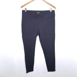 {Loft} Black Skinny Legging Pants Size Large